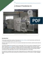 Understanding Vector Group of Transformer 1