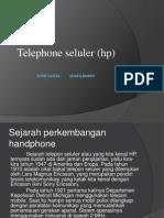 Telepon Seluler (Hp)