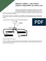 Usando o Lnbf Multiponto e Splitter