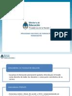 Programa Nacional de Formacion Permanente - Líneas Generales (1)