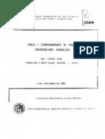 Teoria y Dimensionamiento de Procesos Hidraulicos Para PTAR