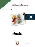 Sushi Rezepte 1