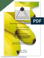 Osmodeshidratación de Bananos Como Propuesta Tecnológica Al