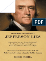 Debunking Bartons Jefferson Lies