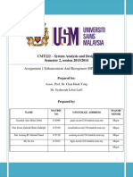 System Analysis and Design - Report of Enhancing and Re-engineering System Website