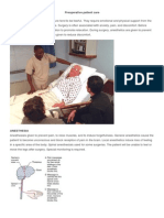 Preoperative Patient Care