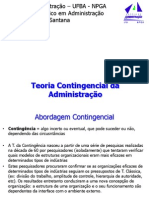 Aula Rodrigo - Teoria Contingencial