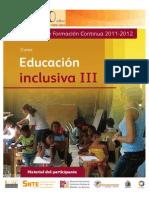 Educ, Inclusiva III