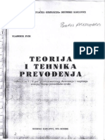 Vladimir Ivir - Teorija i Tehnika Prevođenja