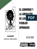 Ho Chi Minh El Leninismo y La Liberacion de Los Pueblos Oprimidos