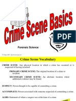Crimescene Basics