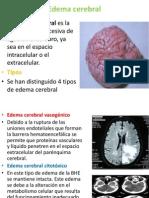Edema Cerebral Diapositiva