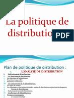 Plan de Politique de Distribution