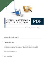 Auditoria, Seguridad y Control de Sistemas