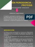 Relación Periodoncia - Protesis