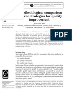 A Methodological Comparison of Three Strategies for Quality3018