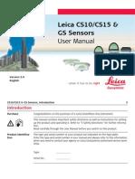 Leica Viva CS10 CS15 User Manual