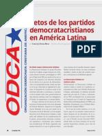 Retos de los partidos democratacristianos en América Latina (La Nación 2388)