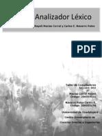 Reporte Analizador Lexico