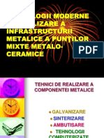 Tehnologii Moderne de Realizare a Infrastructurii Metalice A