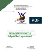 La Seguridad Social y La Protección Social