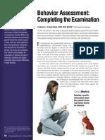 Completing the Examinatio