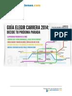 Guia Elegir Carrera 2014