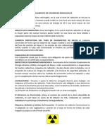 Reglamento de Seguridad Radiologica