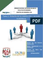 Tarea 2. Relacion de La Contruccio y La Economia