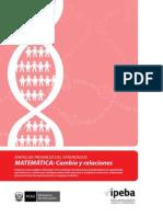 Cambio y Relaciones en Matematica Ccesa