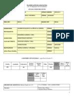 2014 Planificacion Asignatura Quimica General y Organica Odontologia