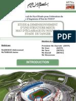 Diapositives PFE Etude d'Un Stade