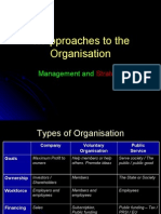 1  Approaches to the Organisation