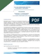 Curso Turismo y Ciudadanía Mintur Argentina