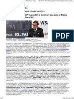 Los accionistas de Prisa piden a Cebrián que deje a Rajoy fuera del affaire Bárcenas.pdf