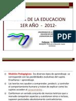 T_E Modelos Pedagagicos