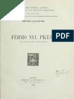 Fermo Nel Piceno - Napoletani (1907)