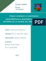 Contaminación Atmosférica - Hongos y Bacterias