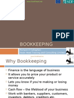 1  Bookkeeping