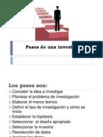 Pasos de La Investigacionn