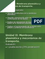 Membrana Plasmatica- Unidad II (1)
