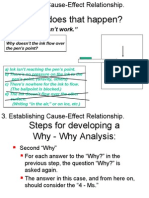 Why-Why Analysis Part Two