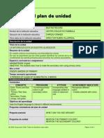 plantilla del plan de unidad 2014