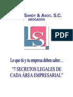 CONSEJOS LEGALES