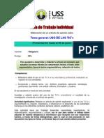 Guia Trabajo Individual 2014-I Lectura Redaccion