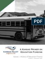 A Kansas Primer on Education Funding