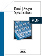 Apa Panel Design Spec