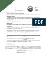 Contra Costa Board Order to Investigate New Sales Tax 2014