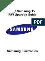 TV Firmware Upgrade Instruction