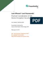 Lost iPhone? Lost Passwords!